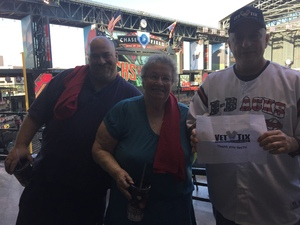 Click To Read More Feedback from Arizona Diamondbacks vs. San Francisco Giants - MLB - Home Opener
