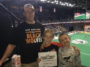 Click To Read More Feedback from New England Black Wolves vs. Vancouver Stealth - National Lacrosse League