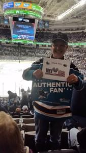 Joseph attended San Jose Sharks vs. Edmonton Oilers - NHL - Post Game on Ice Photo on Apr 6th 2017 via VetTix