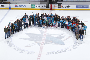 Gene attended San Jose Sharks vs. Edmonton Oilers - NHL - Post Game on Ice Photo on Apr 6th 2017 via VetTix