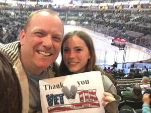 GARLAND attended San Jose Sharks vs. Edmonton Oilers - NHL - Post Game on Ice Photo on Apr 6th 2017 via VetTix