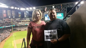 Shawn attended Arizona Diamondbacks vs. San Francisco Giants - MLB on Apr 6th 2017 via VetTix