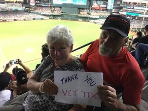 Al attended Arizona Diamondbacks vs. San Francisco Giants - MLB on Apr 6th 2017 via VetTix