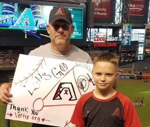 Brian attended Arizona Diamondbacks vs. San Francisco Giants - MLB on Apr 6th 2017 via VetTix
