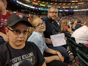 David attended Arizona Diamondbacks vs. San Francisco Giants - MLB on Apr 6th 2017 via VetTix