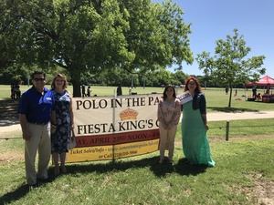 Robert attended 3rd Annual Fiesta Cup - Polo Match - Official Fiesta Event - Presented by the San Antonio Polo Club on Apr 23rd 2017 via VetTix