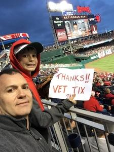 Click To Read More Feedback from Washington Nationals vs. Seattle Mariners - MLB ADA Accessible Seating Only**