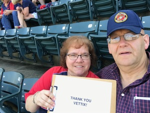 Ken attended Cleveland Indians vs. Seattle Mariners - MLB on Apr 30th 2017 via VetTix