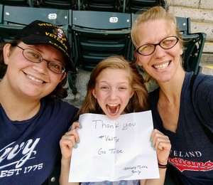 Jamie attended Cleveland Indians vs. Seattle Mariners - MLB on Apr 30th 2017 via VetTix