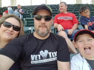 Charles attended Cleveland Indians vs. Seattle Mariners - MLB on Apr 30th 2017 via VetTix