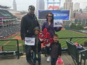 Dwayne attended Cleveland Indians vs. Minnesota Twins - MLB on May 14th 2017 via VetTix