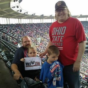 David attended Cleveland Indians vs. Minnesota Twins - MLB on May 14th 2017 via VetTix