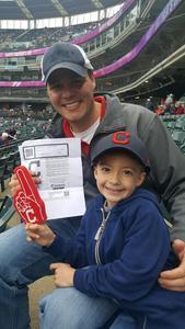 Ian attended Cleveland Indians vs. Minnesota Twins - MLB on May 14th 2017 via VetTix