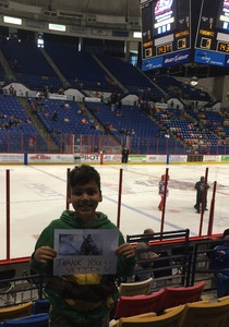 Brian attended Fayettville Fireantz vs. Huntsville Havoc - Hockey on Apr 7th 2017 via VetTix