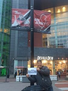 Matthew attended New Jersey Devils vs. Philadelphia Flyers - NHL on Apr 4th 2017 via VetTix