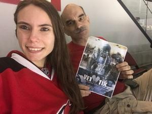 james Rossmeissl attended New Jersey Devils vs. Philadelphia Flyers - NHL on Apr 4th 2017 via VetTix