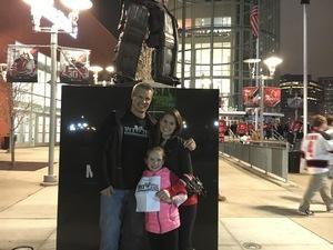Kristian attended New Jersey Devils vs. Philadelphia Flyers - NHL on Apr 4th 2017 via VetTix