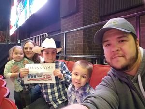 Michael attended PBR - 2017 Built Ford Tough Series on Apr 9th 2017 via VetTix