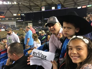 Anthony attended PBR - 2017 Built Ford Tough Series on Apr 23rd 2017 via VetTix
