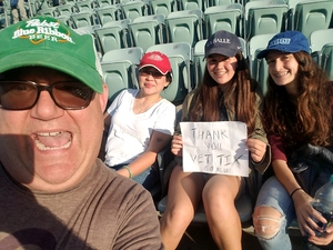 Robert attended Los Angeles Dodgers vs. Colorado Rockies - MLB on Apr 19th 2017 via VetTix