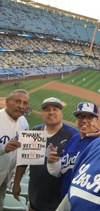 Reynaldo attended Los Angeles Dodgers vs. Colorado Rockies - MLB on Apr 19th 2017 via VetTix