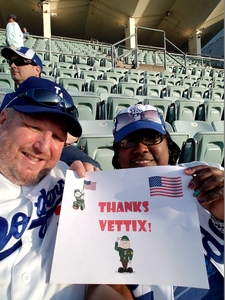 Jonathan Bradford attended Los Angeles Dodgers vs. Colorado Rockies - MLB on Apr 19th 2017 via VetTix