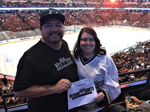 David attended Anaheim Ducks vs. Los Angeles Kings - NHL on Apr 9th 2017 via VetTix