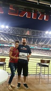 Jason attended Arizona Diamondbacks vs. San Diego Padres - MLB on Apr 27th 2017 via VetTix