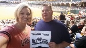 Shawn attended Arizona Diamondbacks vs. San Diego Padres - MLB on Apr 27th 2017 via VetTix
