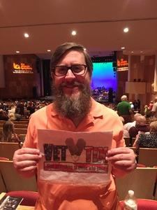 ROB attended Big Bad Voodoo Daddy - Saturday Evening Show on Apr 15th 2017 via VetTix