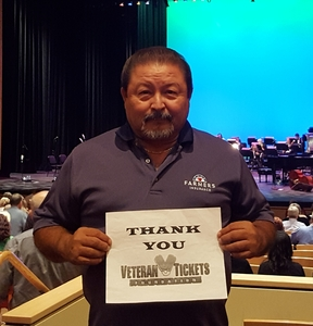 Lorenzo attended Big Bad Voodoo Daddy - Saturday Evening Show on Apr 15th 2017 via VetTix