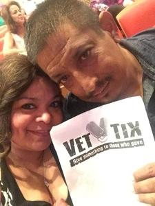 Marie attended Big Bad Voodoo Daddy - Saturday Matinee Show on Apr 15th 2017 via VetTix