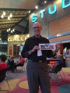 Jeff of Scottsdale attended That Irving Berlin Thing - Thursday Evening on Apr 20th 2017 via VetTix