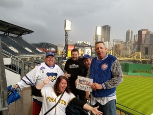 Click To Read More Feedback from Pittsburgh Pirates vs. Chicago Cubs - MLB