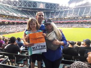 Nathaniel attended Arizona Diamondbacks vs. New York Mets - MLB on May 16th 2017 via VetTix