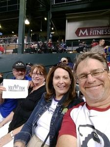 Franklin attended Arizona Diamondbacks vs. New York Mets - MLB on May 16th 2017 via VetTix