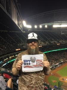 ROB attended Arizona Diamondbacks vs. New York Mets - MLB on May 16th 2017 via VetTix