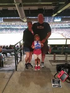 Doyle attended Arizona Diamondbacks vs. Pittsburgh Pirates - MLB on May 11th 2017 via VetTix