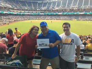 Greg attended Arizona Diamondbacks vs. Pittsburgh Pirates - MLB on May 11th 2017 via VetTix