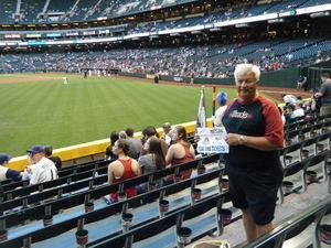 David attended Arizona Diamondbacks vs. Pittsburgh Pirates - MLB on May 11th 2017 via VetTix