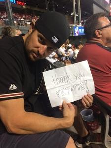 Jon-Paul attended Arizona Diamondbacks vs. Pittsburgh Pirates - MLB on May 11th 2017 via VetTix