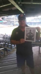 Richard Garza, 82d Airborne Division attended Arizona Diamondbacks vs. Pittsburgh Pirates - MLB on May 11th 2017 via VetTix