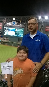Click To Read More Feedback from Arizona Diamondbacks vs. Milwaukee Brewers - MLB