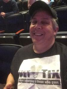Matthew attended Bon Jovi - This House Is Not for Sale Tour on Apr 13th 2017 via VetTix