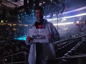 Joseph attended Bon Jovi - This House Is Not for Sale Tour on Apr 13th 2017 via VetTix