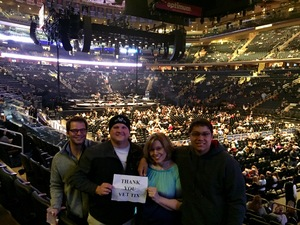 Tyler attended Bon Jovi - This House Is Not for Sale Tour on Apr 15th 2017 via VetTix