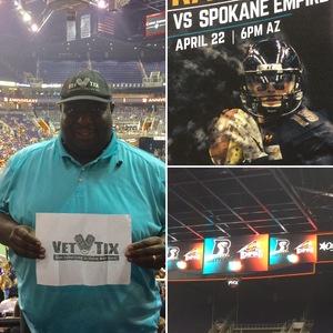 Click To Read More Feedback from Arizona Rattlers vs. Spokane Empire - IFL