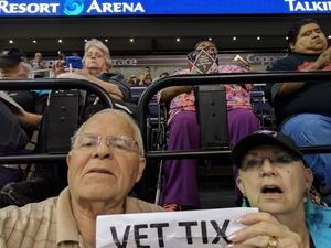 Leslie attended Arizona Rattlers vs. Spokane Empire - IFL on Apr 22nd 2017 via VetTix