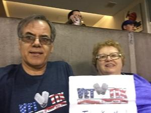 Richard attended Arizona Rattlers vs. Spokane Empire - IFL on Apr 22nd 2017 via VetTix