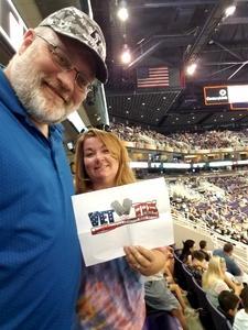Christopher attended Arizona Rattlers vs. Spokane Empire - IFL on Apr 22nd 2017 via VetTix